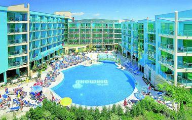 Hotel Diamond, Bulharsko, Černomořské pobřeží, 6 dní, Letecky, All inclusive, Alespoň 3 ★★★, sleva 0 %, bonus (Levné parkování u letiště: 8 dní 499,-   12 dní 749,-   16 dní 899,- )