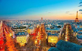 3denní zájezd do Paříže v zářící adventní době pro 1 osobu