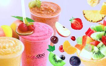 Dva jogurtové nebo ovocné koktejly Yogodoo