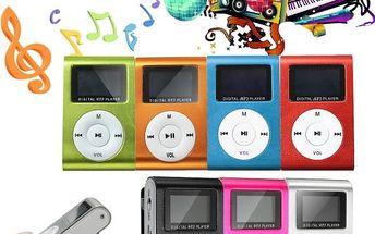 Digitální MP3 přehrávač s LCD displejem - poštovné zdarma