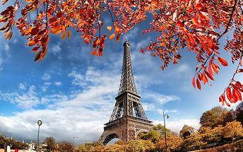 3denní zájezd do adventní Paříže pro jednoho