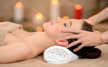 60minutová masáž proti migréně