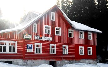 2–4denní pobyt se snídaněmi nebo polopenzí pro 2 v penzionu Lesní Zátiší v Harrachově