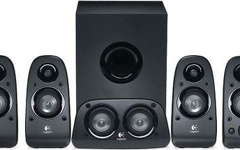 Reprosoustava Logitech Z-506 s funkcí 3D stereo
