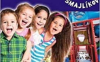 2 hodiny ve Smajlíkově pro vaše děti se slevou 52%! Děti si užijí hraní a Vy si odpočinete u kávy.