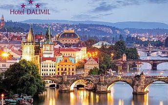 Ubytování v Hotelu Dalimil*** na Žižkově, pouhé 4 zastávky do centra města