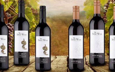 Set australských vín Spee'Wah z Victorie