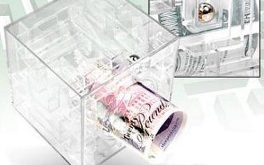Labyrint na peníze - originální pokladnička!