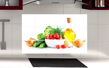 Dekorativní samolepka do kuchyně