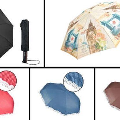 Originální pánské a dámské skládací deštníky