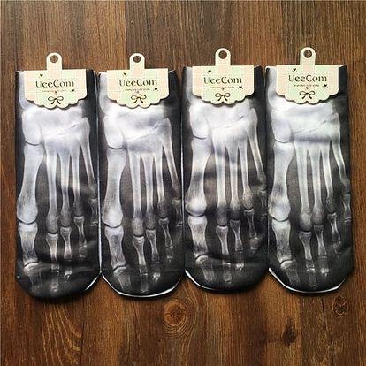 Pánské ponožky s motivy rentgenové nohy - dodání do 2 dnů