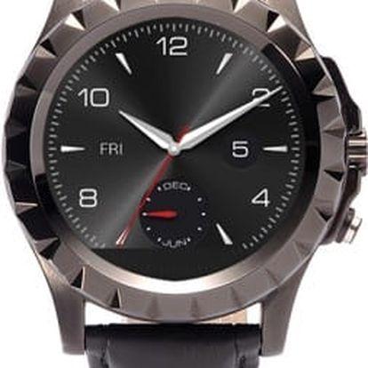 Voděodolné chytré hodinky CUBE1 S9 Black s fotoaparátem