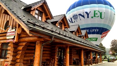 3denní pobyt pro 2 s letem balónem na jižní Moravě v penzionu BalonCentrum Břestek