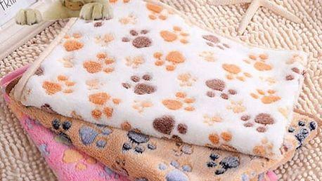 Malá deka pro zvířecí mazlíčky