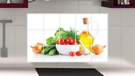 Dekorativní samolepka do kuchyně - poštovné zdarma