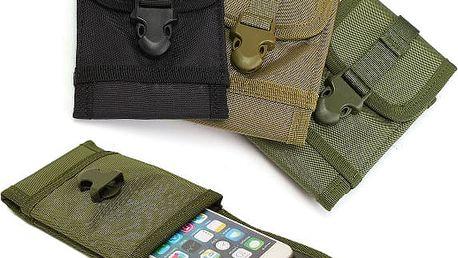 Army pouzdro na mobilní telefon - poštovné zdarma