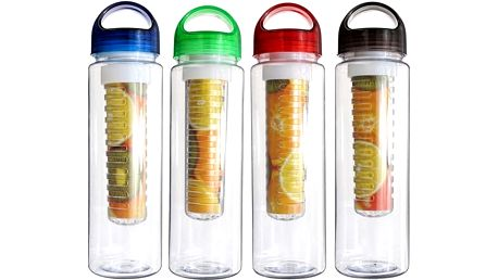 700 ml lahev na pití s košíčkem na ovoce - poštovné zdarma