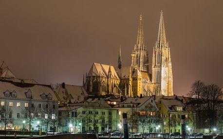 Advent v Regensburgu, středověkém měste na Dunaji