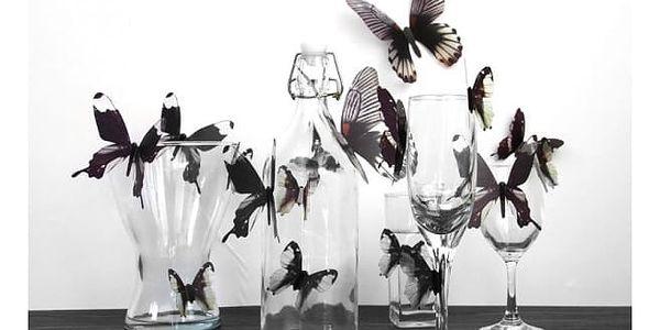Sada 3D motýlů na zeď