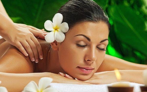 Výběr ze 4 druhů relaxačních 60minutových masáží