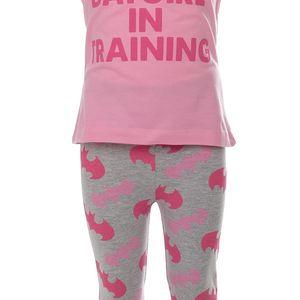 Dívčí pyžamo Batman vel. 3 - 4 roky, 104 cm