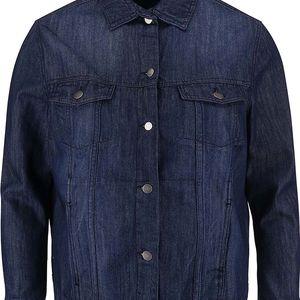 Tmavě modrá džínová bunda Dorothy Perkins Curve