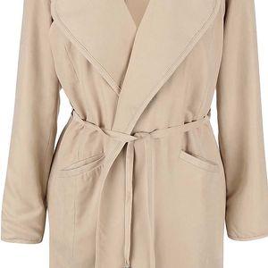 Béžový kabát VILA Emmely