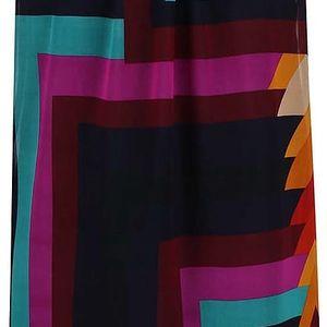 Barevné šaty s geometrickými tvary Desigual Alexandra