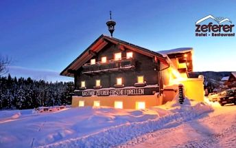 Alpy v českém hotelu se snídaní
