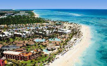 Dominikánská republika - Punta Cana na 12 dní, all inclusive s dopravou letecky z Prahy