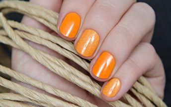 Úprava nehtů s francií nebo barevným gel lakem