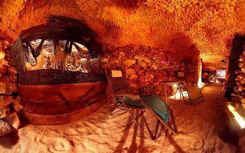 Privátní relaxace v solné jeskyni až pro 7 osob