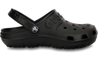 Crocs Hilo Clog Black, dostupné velikosti 38 - 40, 42 - 43, 45 - 46