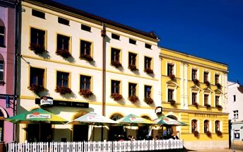 Pobyt pro dva v Hotelu Praha Broumov s polopenzí, na 3, 4 nebo 6 dnís platností do listopadu 2017.