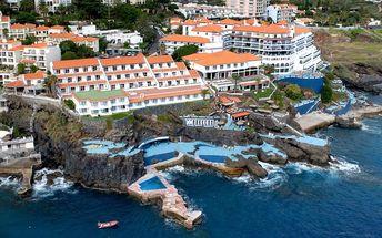 Madeira - Caniço na 8 dní, snídaně s dopravou letecky z Prahy