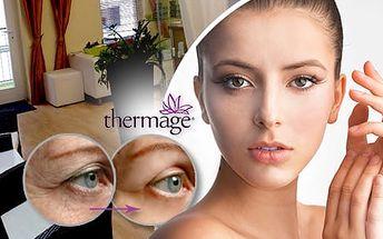 Neinvazivní lifting: Thermage CPT + led active therapy. Na výběr Face skin nebo Full face