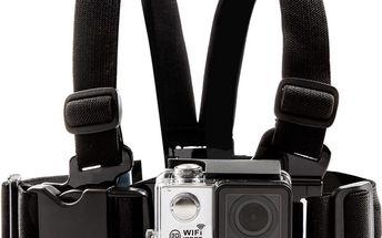 Držák na hrudník pro akční outdoor kameru