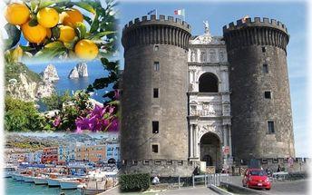 Itálie, letecky na 5 dní