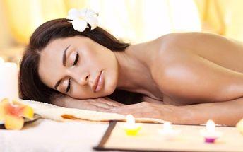 Vanilková masáž zad a šíje v délce 40 minut