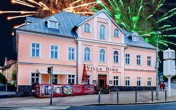6denní vánoční nebo silvestrovský pobyt v hotelu Villa Dino v Mariánkách pro 2