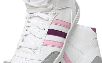 Dámská kotníková obuv Adidas Vlneo Hoops Mid vel. EUR 39 1/3, UK 6