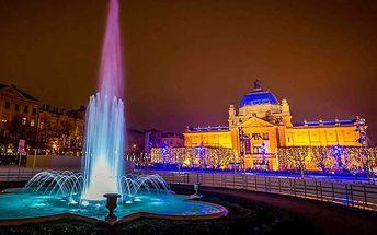Adventní zájezd do Záhřebu s návštěvou Slovinska a Rakouska pro JEDNOHO