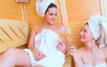 Sauna a bublinky jen pro vás dva