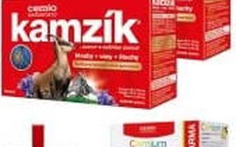 CEMIO Kamzík 2x60 kapslí + Multivitamin se zázvorem 120 tablet ZDARMA