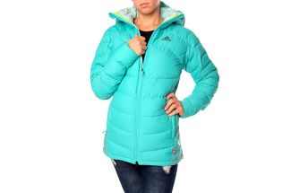 Dámská péřová zimní bunda Adidas Performance Terrex vel. EUR 40, UK 14