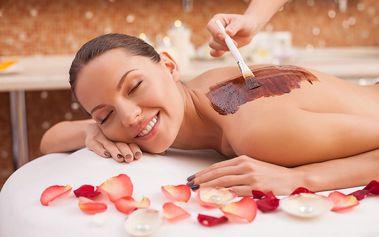 Rituál královny Kleopatry: peeling, koupel, čokoládová masáž a čokoládový zábal na 120 minut