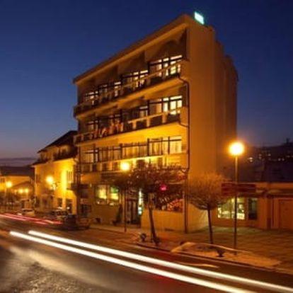 Hotel Krystal***+ v centru lázní Luhačovice s polopenzí a masáží dle výběru