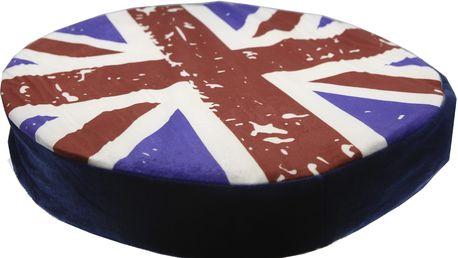 Luxusní kulatý polštář s motivem ovoce Vzor: UK