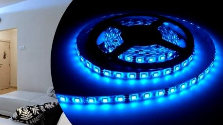 5 metrový RGB LED pás s diodami SMD 3528