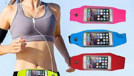 """Sportovní pouzdro na mobilní telefon o velikosti do 4,7"""" Barva: černá"""